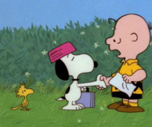 cartoon, charlie brown, and cooking image