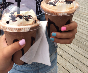 chocolate, mocca, and frapuccino image