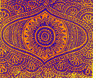 hippie and mandala image