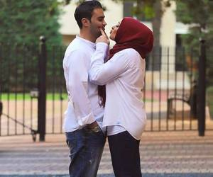 beautiful, muslim, and couple image