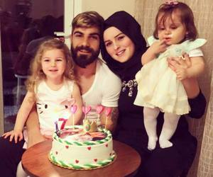 family, muslim, and love image