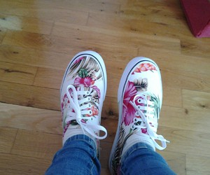 i, vans, and ♥ image