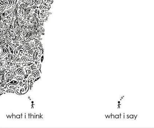 think, say, and quotes image