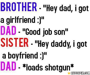 funny, dad, and boyfriend image