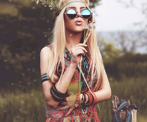fashion, hippie, and style image