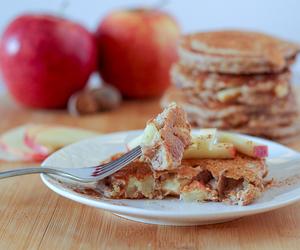 apple, breakfast, and crepe image