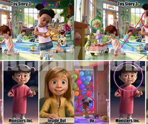 disney, inside out, and pixar image