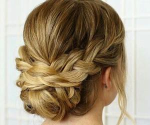 braid, heart, and frisuren image