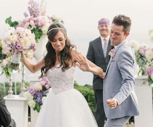 couple, wedding, and dance image