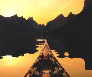 free, nature, and sunset image