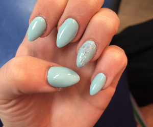 blue, claws, and glitter image