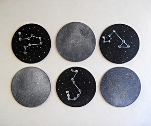 coasters, craft, and diy image