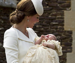 kate middleton and princess charlotte image