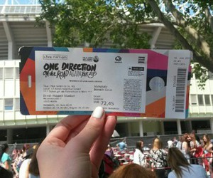 concert, niall horan, and ticket image