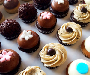 cupcake, dessert, and food image
