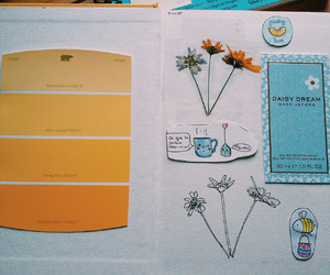 indie, journal, and yellow image