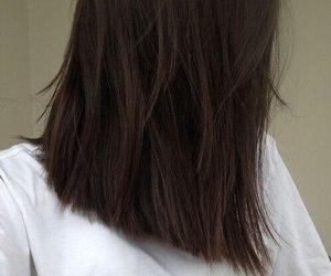 hair, grunge, and brown image