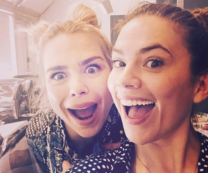 billie piper and hayley atwell image
