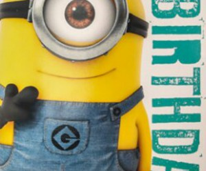 birthday, minion, and cite image