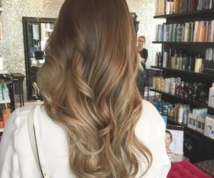 blonde, brunette, and curls image