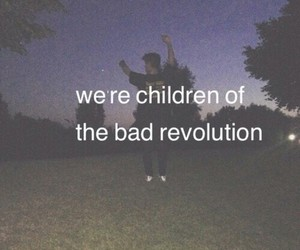 grunge, black, and rebel image