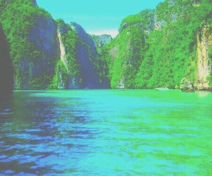 summer, nature, and paradise image