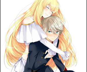anime, couple, and aldnoah zero image