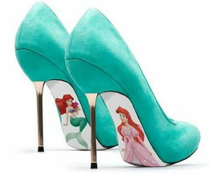 shoes, ariel, and disney image
