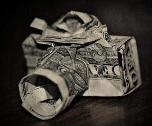 camera, money, and cool image