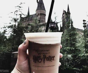 harry potter, hogwarts, and drink image