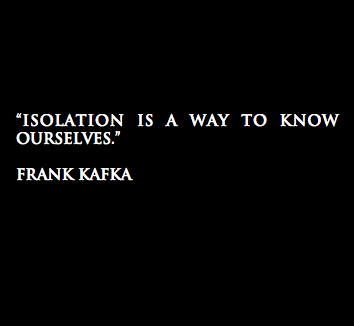 quotes and isolation image
