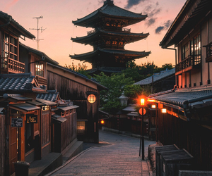 japan, travel, and kyoto image