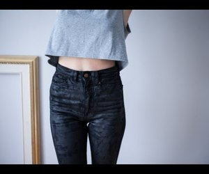 denim, diy, and faux waxed image