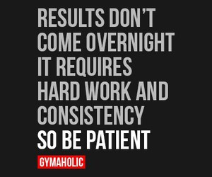 fitness, patients, and consistency image