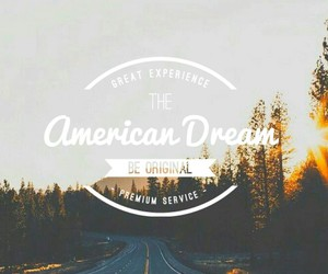 american, Dream, and road image