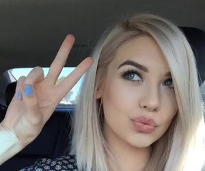 hair, amanda steele, and blonde image