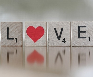 scrable, l♥ve, and love image