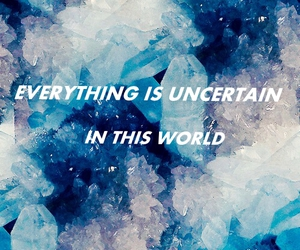 blue, uncertain, and everything image