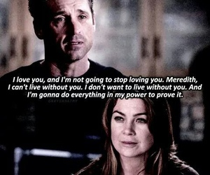 grey's anatomy, meredith grey, and derek image