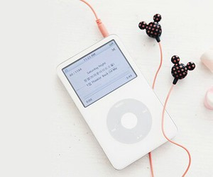 ipod, music, and pink image