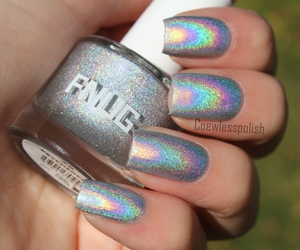 holographic, makeup, and beauty image