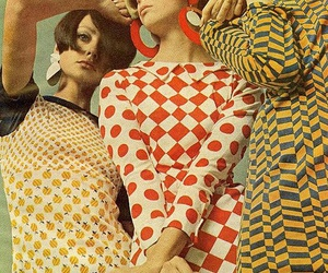 vintage fashion, 60s style, and mod style image