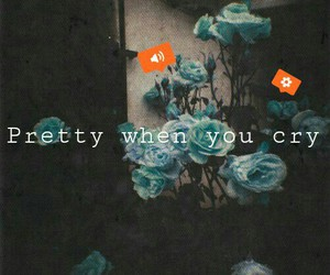 flowers, grunge, and music image