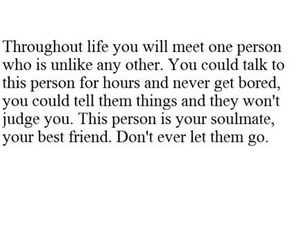 quote, soul mate, and tumblr image
