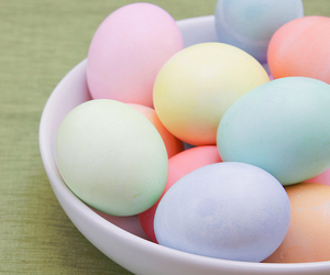pastel, eggs, and easter image