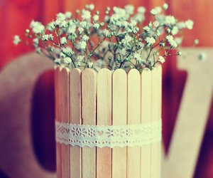 diy, flower, and style image