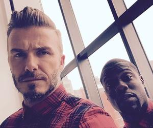 David Beckham and kevin hart image