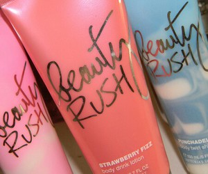 beauty rush, pink, and girly image