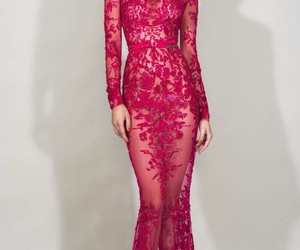 dress, Zuhair Murad, and pink image