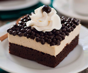 brownies, coffee, and mousse image